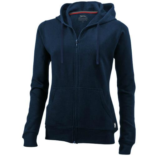 Open Full Zip Hooded Ladies Sweater | Reklaamkingiekspert